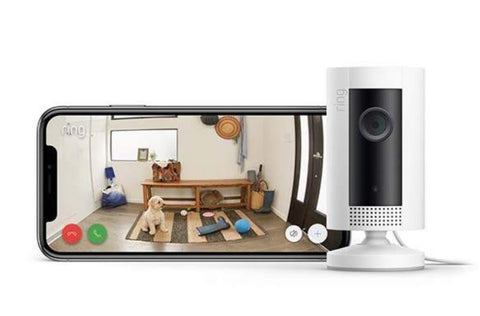 Wi- Fi - Ring Indoor Cam (White)