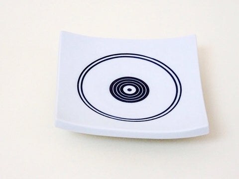 Beautiful statement Ceramic plate/ stand, handmade by the incredible Cornish ceramicist Ben Barker.