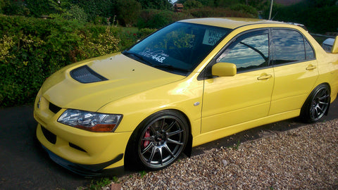 evo 8 gsr standard side view