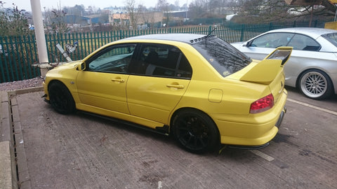 evo 8 gsr visual finished side view