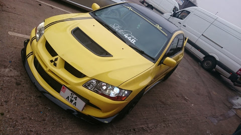 evo 8 gsr visual finished front view