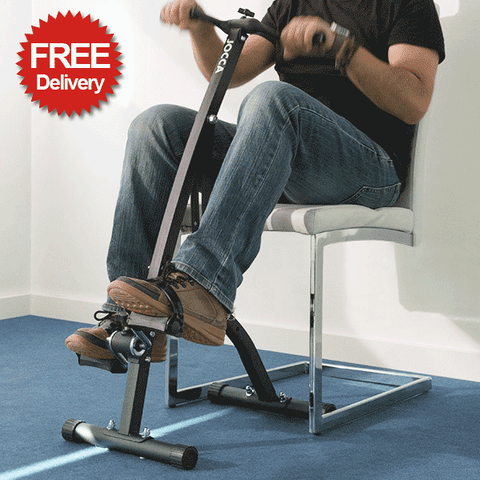 Foldaway Double Exercise Bike