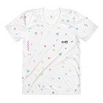 White Confetti - Women's All-Over Crew Neck t-shirt