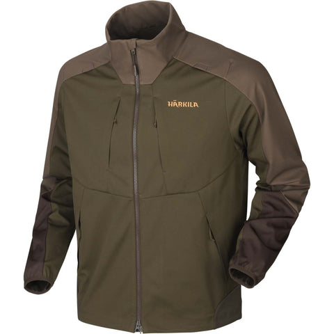 Harkila Magni Fleece - Willow Green/Shadow Brown