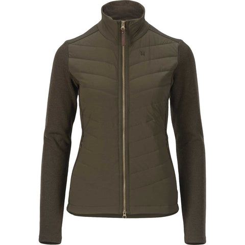 Harkila Retrieve Lady Insulated Cardigan - Warm Olive