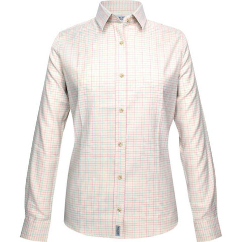 Jack Pyke Ladies Countryman Shirt - Pink Check