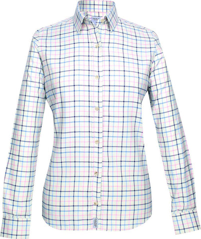 Jack Pyke Ladies Countryman Shirt - Navy Check