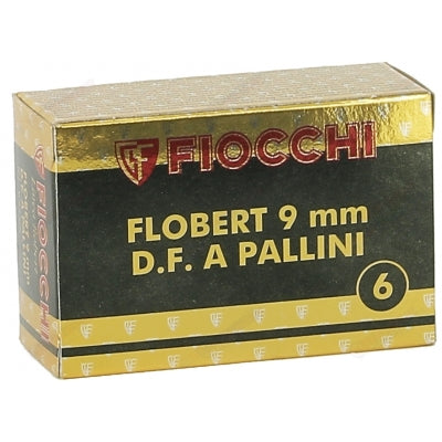 Fiocchi Flobert 9mm Cartridges