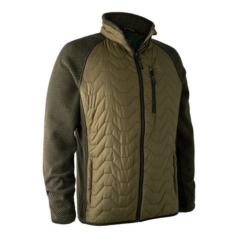 Deerhunter Pochard Jacket w. Knit - Olive Night