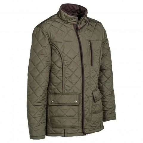 Percussion Stalion Quilted Jacket - Olive Green