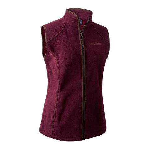 Deerhunter Lady Josephine Gilet - Windsor Red