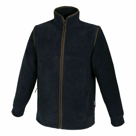 Beretta Woodbridge Fleece Jacket/Gilet - Charcoal Blue