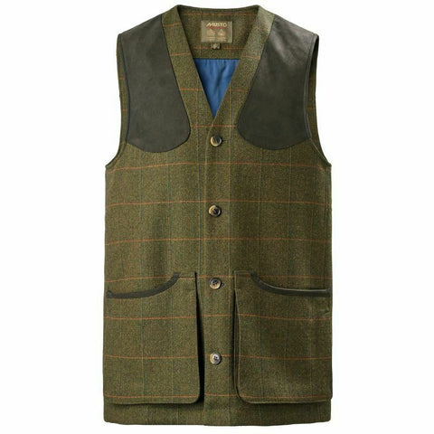 Musto Machine Washable Gore-Tex Tweed Waistcoat - Balmoral