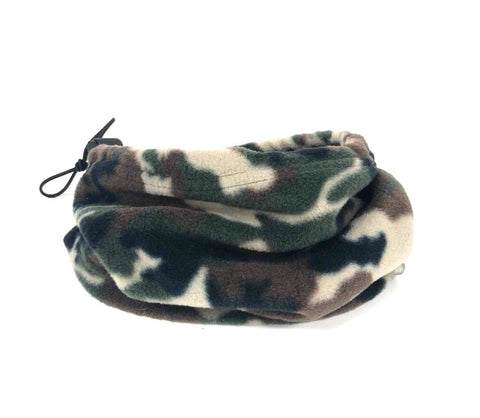 Fleece Neck Tube Gaiter - Camouflage