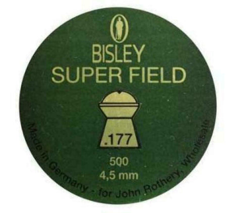 Bisley Super Field .177 Airgun Pellets