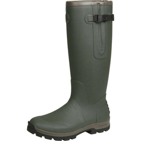 Seeland Noble Gusset Wellington Boots - Dark Olive