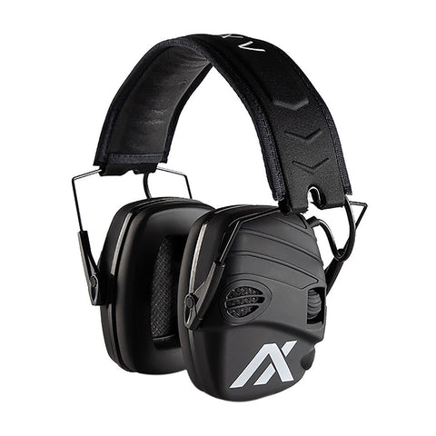 SportEar Trackr Ear Defenders - Black