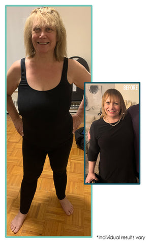 before and after weight loss at herbal magic