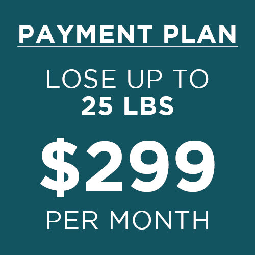 payment plan - lose up to 25 pounds