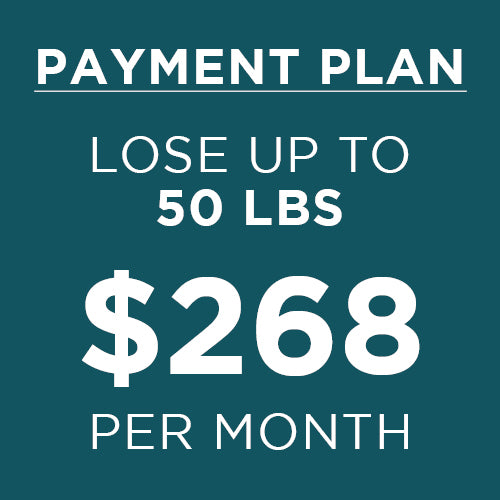 6 Month Weight Loss Payment Plan