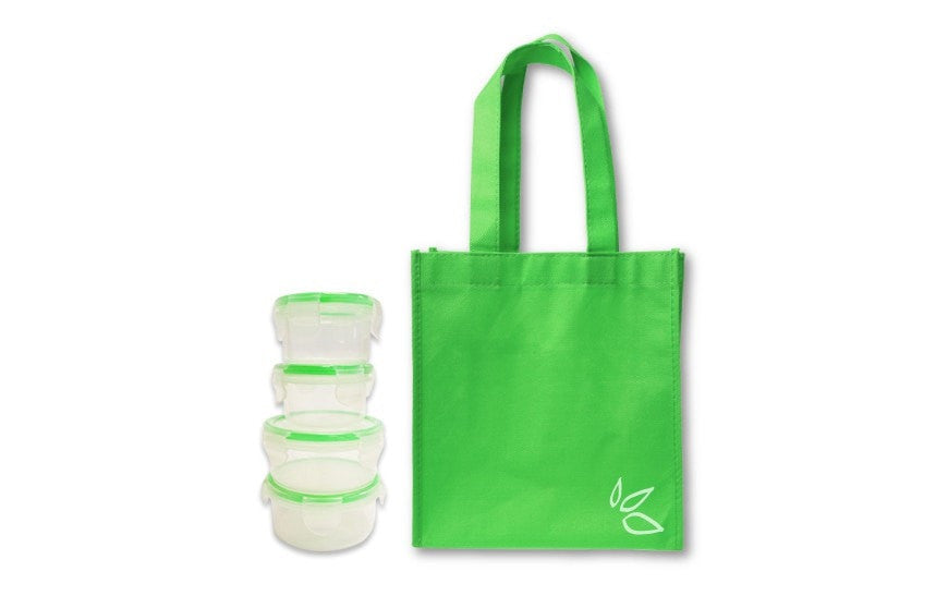 Lunch Kit (Reusable Bag and 4 Containers)