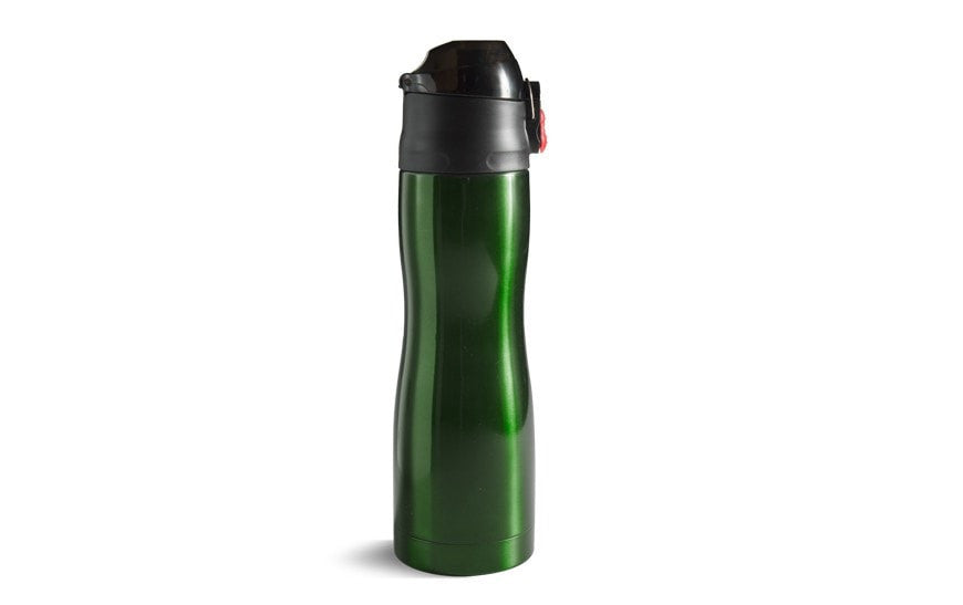 Stainless Steel Water Bottle Green (500ml)