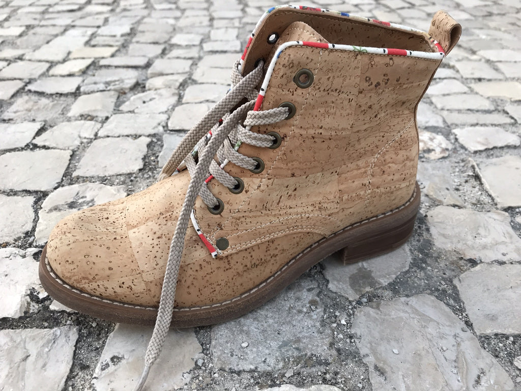 Faux Leather Worker Boot - Grow From Nature