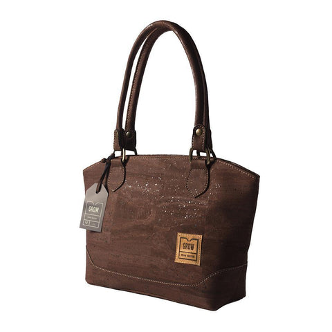Grow's Quercus Aristata Cork Handbag