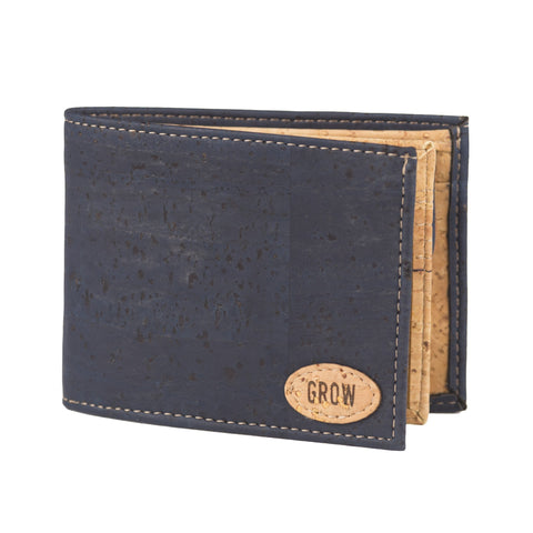 Pumila Men's Wallet |  Large Blue - Grow From Nature