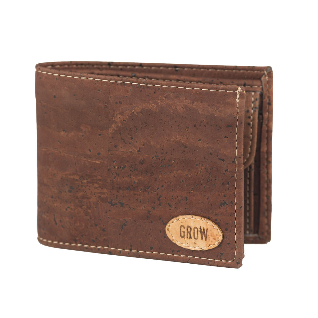 Rubra Men's Wallet | Dark - Grow From Nature