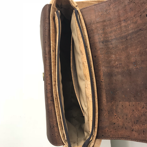 Quercus crenata Crossbody | Natural & Brown