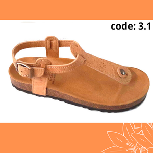 Cork sandals, cork fabric, Vegan sandals, sandals, for summer, vegan footwear, made in Portugal