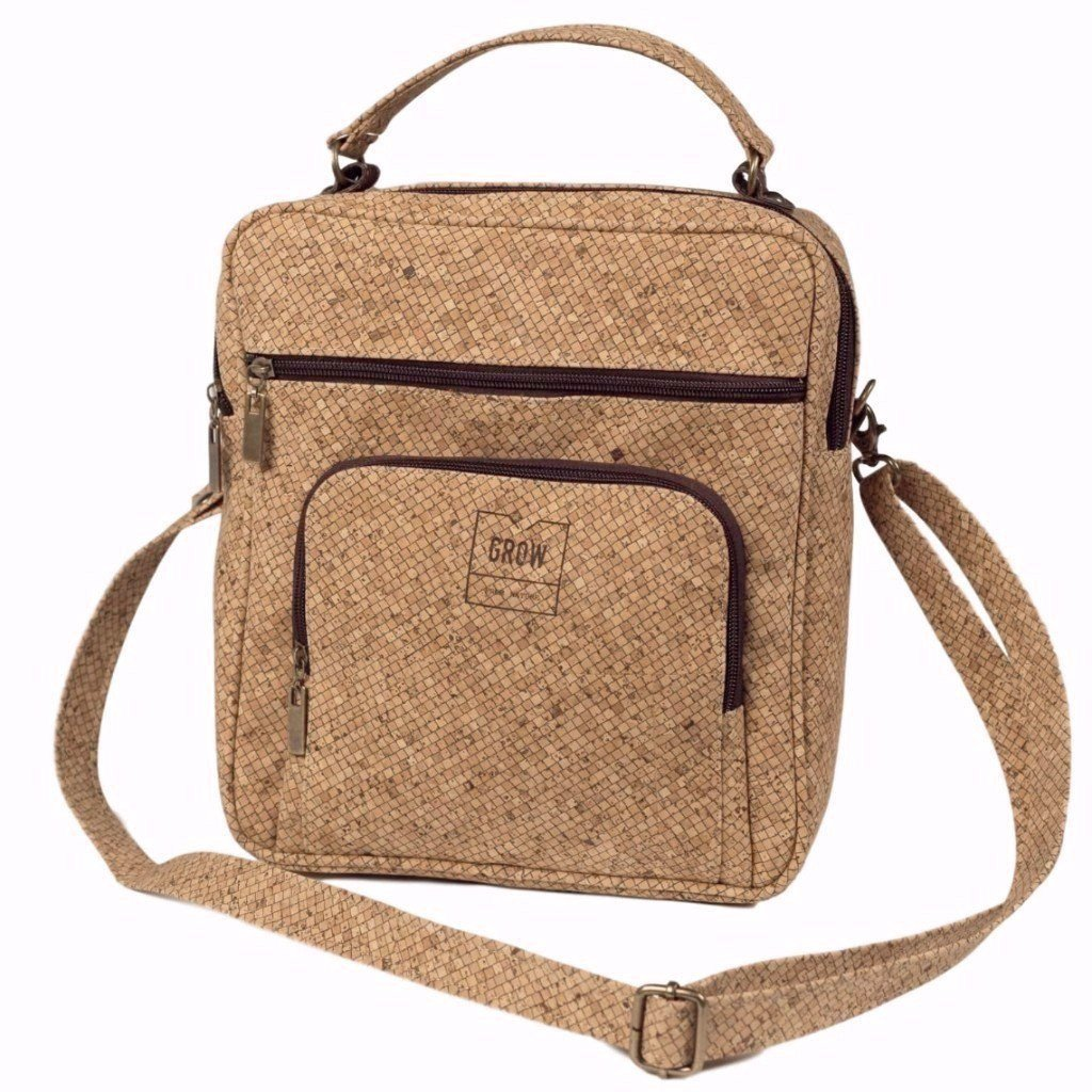 Excelsa Crossbody for Men | Squares - Grow From Nature