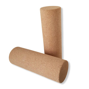 Yoga Roller made of Cork, Yoga Products, Cork Fabric, Vegan, made in Portugal,