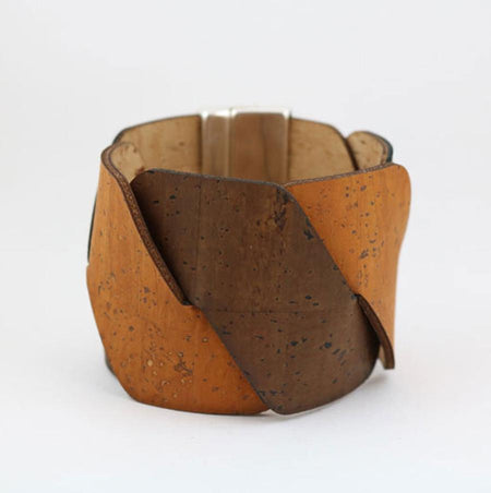 Tile Collection | Square Cork Bracelet