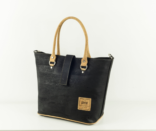 Lanata Tote Bag | Black collection 2019 - Grow From Nature
