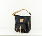 Dumosa Crossbody Bag | Cork in black 2019 - Grow From Nature