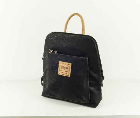 Chestnut Oak, Black Backpack 2019 collection - Grow From Nature