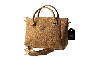 Grow's Serrata Cork Handbag/ Crossbody Bag - Grow From Nature