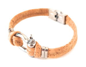 Cork bracelet for Men, bracelets, vegan ideas, sustainable fashion, Made in Portugal