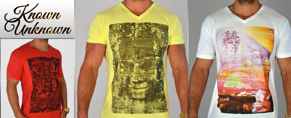 Known Unknown Men's Graphic T Shirts
