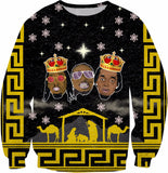 Migos Three Kings Holiday Sweatshirt
