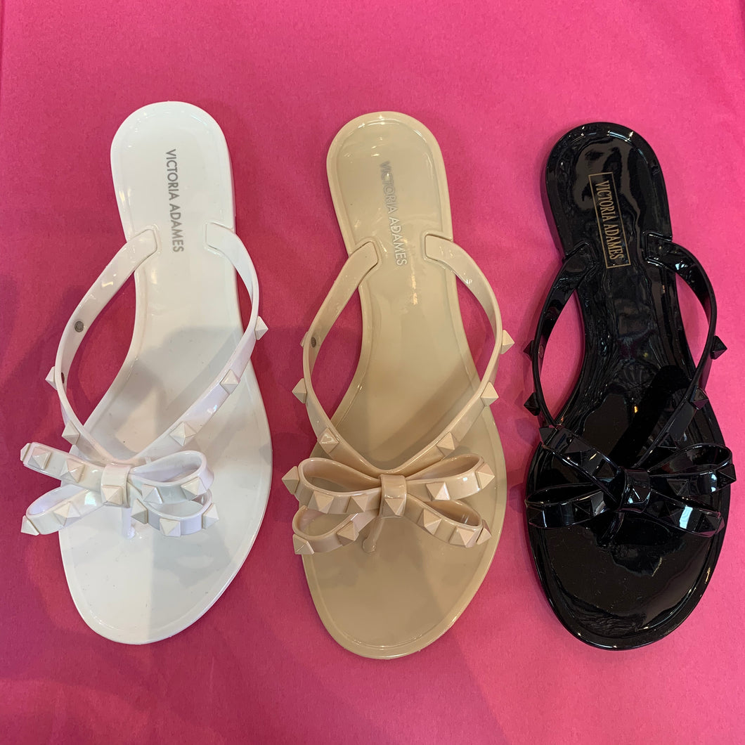 Jelly Sandals - Black, White and Nude Colors - Free Shipping