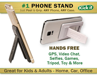 Kick it Phone Stand/Mini Selfie Stick - Free Shipping Limited Time Only