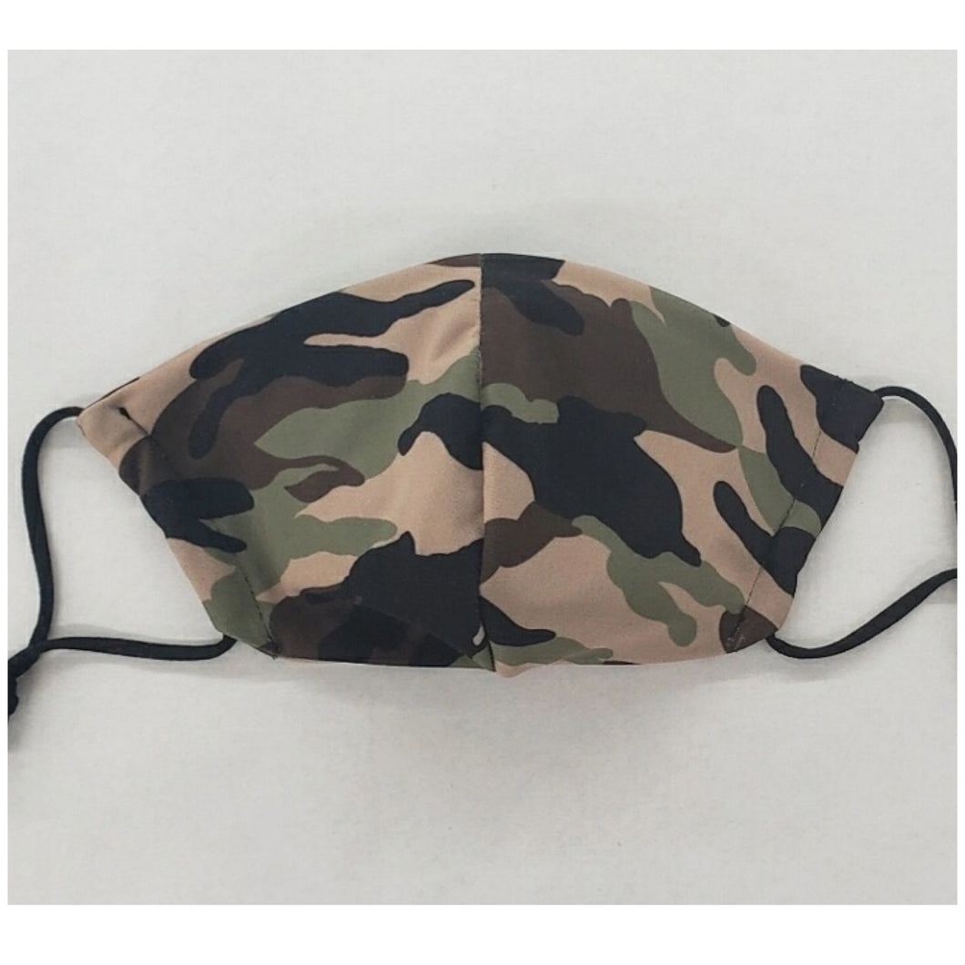 Camo Washable Cloth Veil