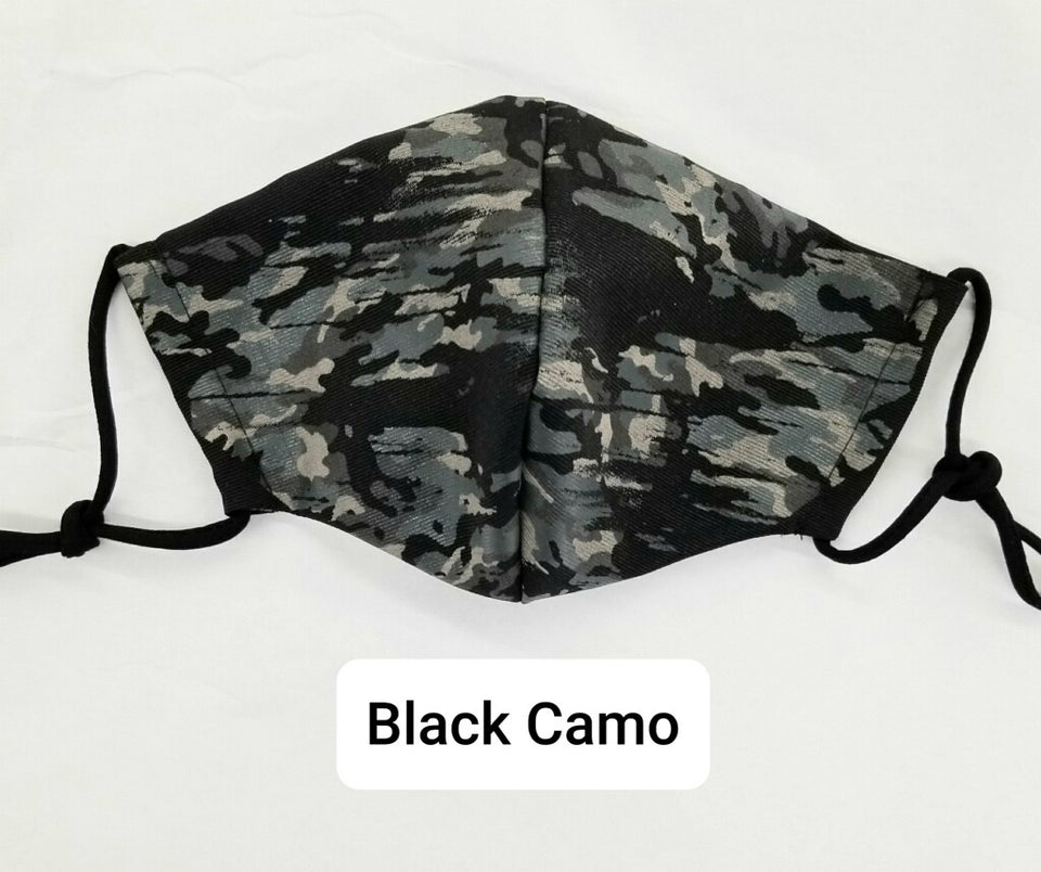 Army Camo Washable Mask