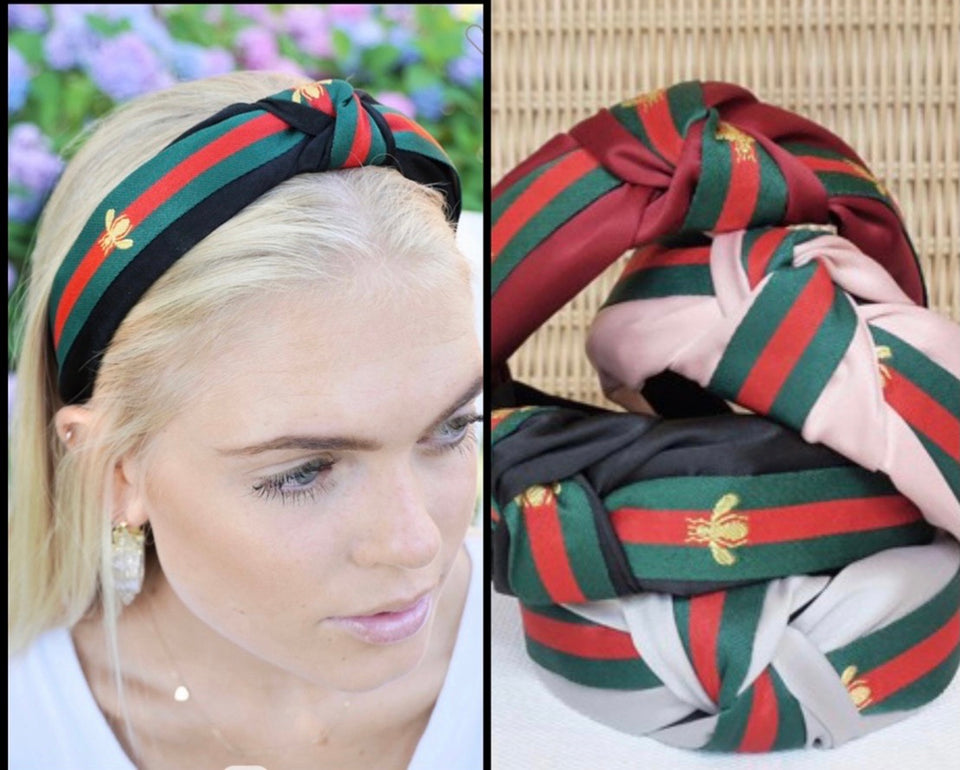 Headband with red stripe free shipping