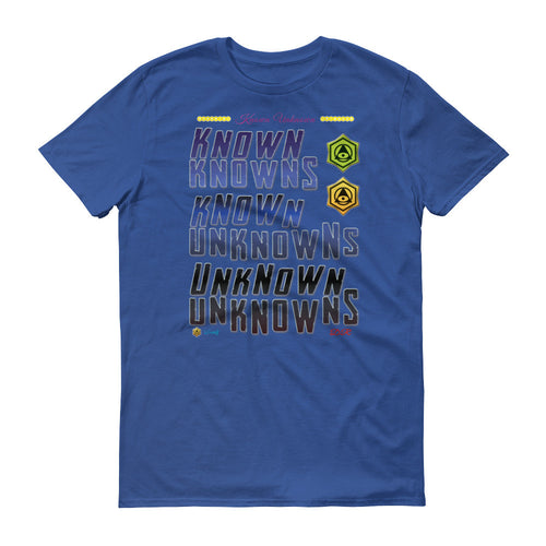 Known Unknown Mens Fashion T Shirt Many Colors Available