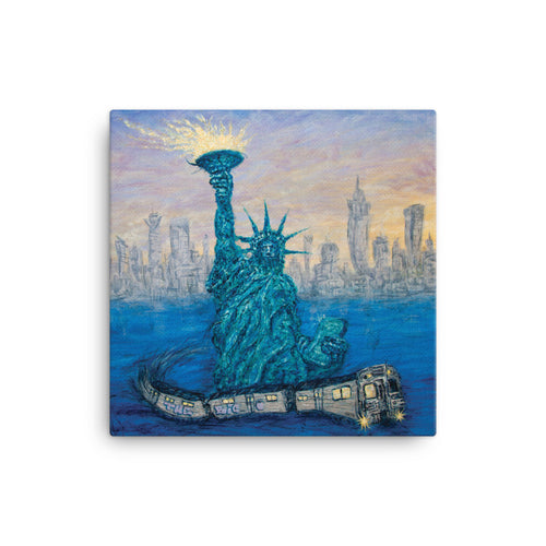New York Tribute Canvas