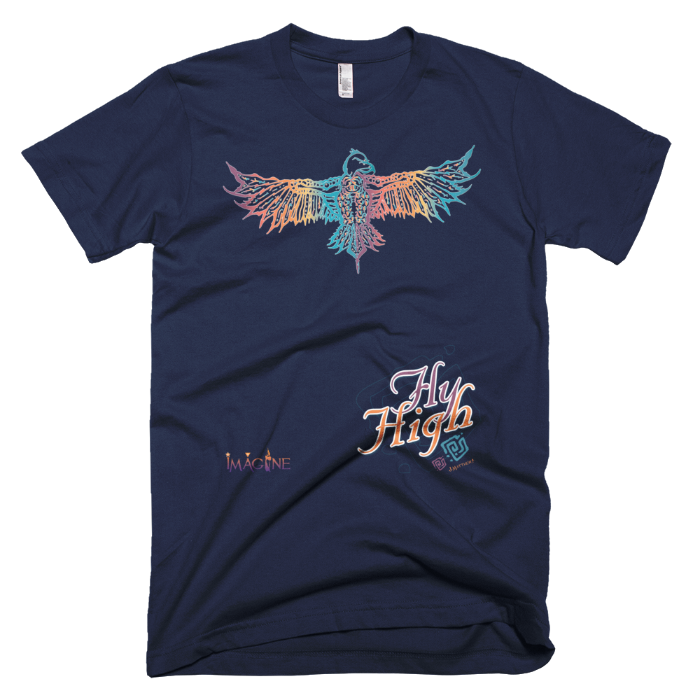 Fly High Imagine Graphic T-Shirt Slim Fitted